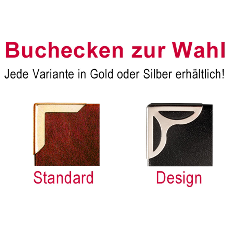 Buchecken Standard und Design